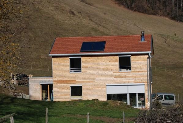 maison passive 0912 pontcharra allevard 38 isere maison ossature bois pollen. Black Bedroom Furniture Sets. Home Design Ideas