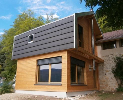 maison ossature bois 16081 serrieres en chautagne savoie 73 maison ossature bois pollen. Black Bedroom Furniture Sets. Home Design Ideas