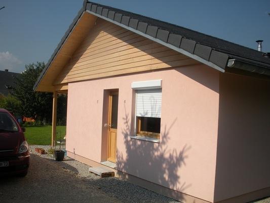 Maison BBC 0804 - Chambery - 73 - Savoie - Maison ossature bois - Pollen Construction Bois Savoie